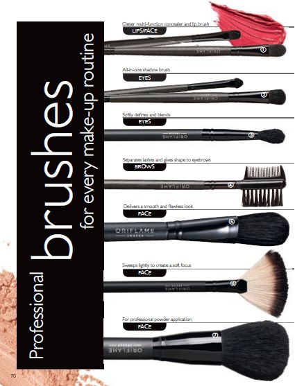 Professional Brushes for Every Make Up Routine
