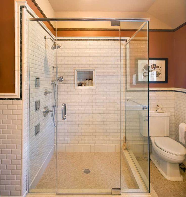 Arts U0026 Crafts Baths Two Ways. Craftsman ShowersCraftsman BathroomTile ... Part 51