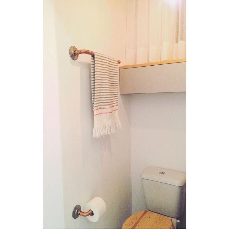 M s de 25 ideas incre bles sobre colgador de toallas en for Colgador toalla bano