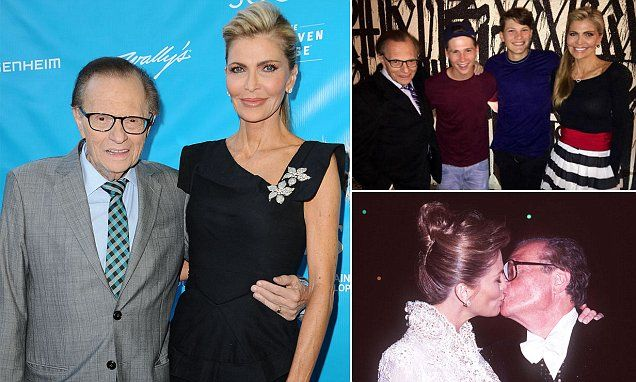 Larry King's wife Shawn, 57, allegedly caught sending racy texts and nude photos to man she has been having yearlong affair with - and threatening to leave her 82-year-old husband | Daily Mail Online