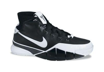 1e711b7cf433 Kobe Bryant Nike Air Zoom Kobe I black and white