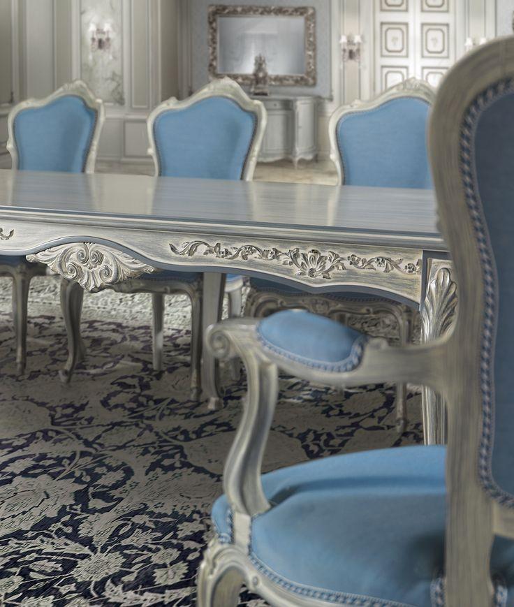 RODI Details of classic luxury dining room furniture