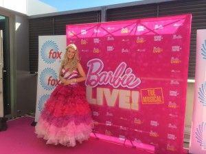 Kara's Party Ideas Mattel Barbie Pearl themed birthday party via Kara's Party Ideas | Cake, decor, cupcakes, games and more! KarasPartyIdeas.com #barbieparty #barbie #barbiedoll #girlypartyideas #partdecor (7) | Kara's Party Ideas