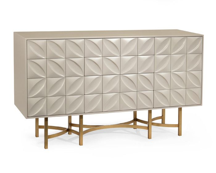 Ghost White Credenza By John Richard