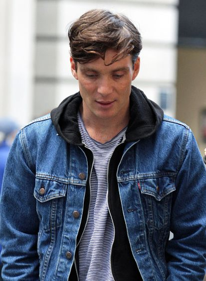 Cillian murphy , The Peaky Blinders. (Tommy Shelby) love the Levi jacket Mr. Shelby!