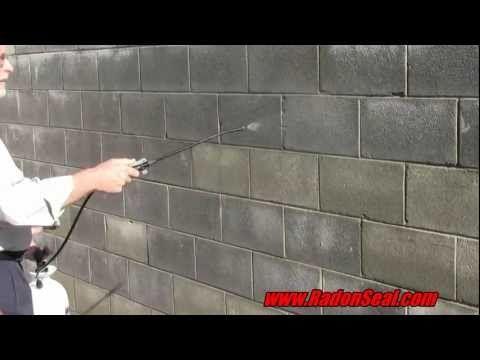 RadonSeal Deep Penetrating Concrete Sealer: http://youtu.be/Nv61h2AWaBo