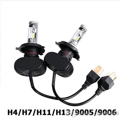 H4/H7/H11/H13/9005(HB3)/9006(HB4) LED Car Headlight Single/Hi-Lo Beam CSP Chips Auto Led Headlamp Fog Light Bulbs 6500K - $54.99