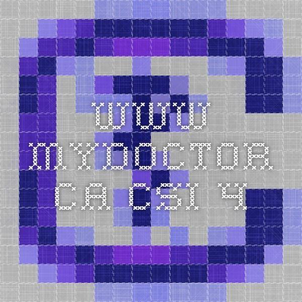 www.mydoctor.ca - CSI 4