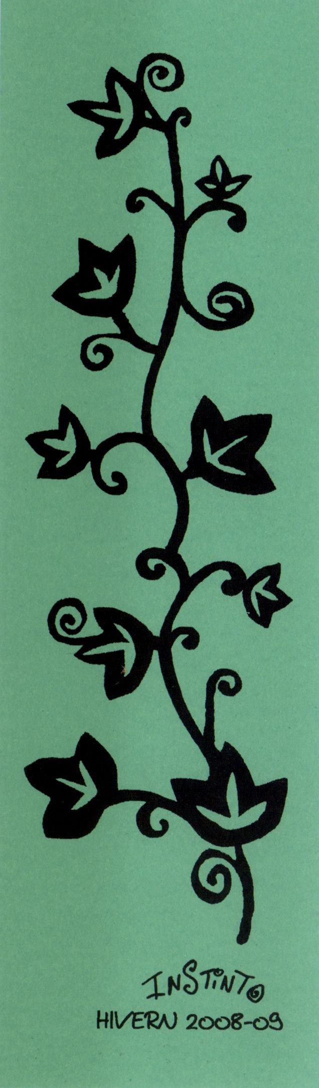 Punto de libro de la colección Heura para el St. Jordi del 2008.#InstintoBcn #Bookmark