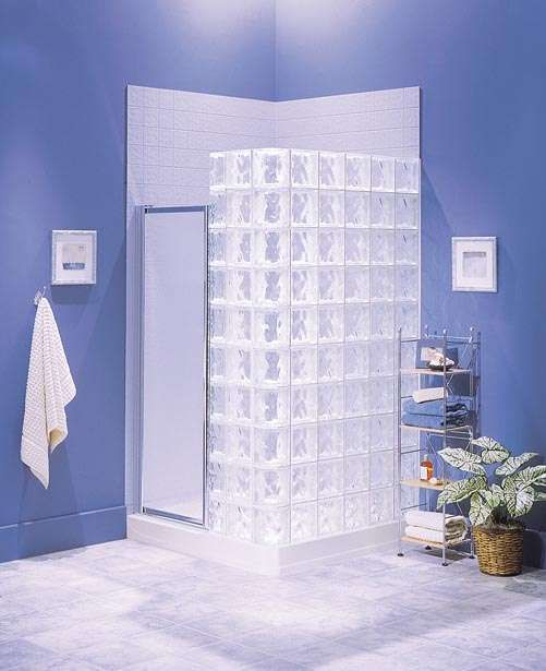Glass Square Walls In Bathrooms Shower Systems Simplify