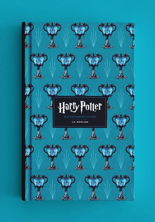 Ravenclaw  --  Alternative book covers for Harry Potter by Raxenne Maniquiz, graphic designer living in the Philippines.