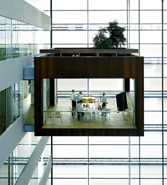 Copenhagen's Suspended Glass Office...