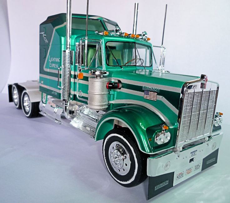 Kenworth W900 Aerodyne (1976) | My truck model kits ...