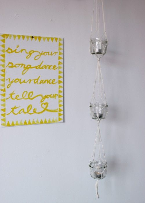 DIY Hanging Lanterns With Candles | Shelterness