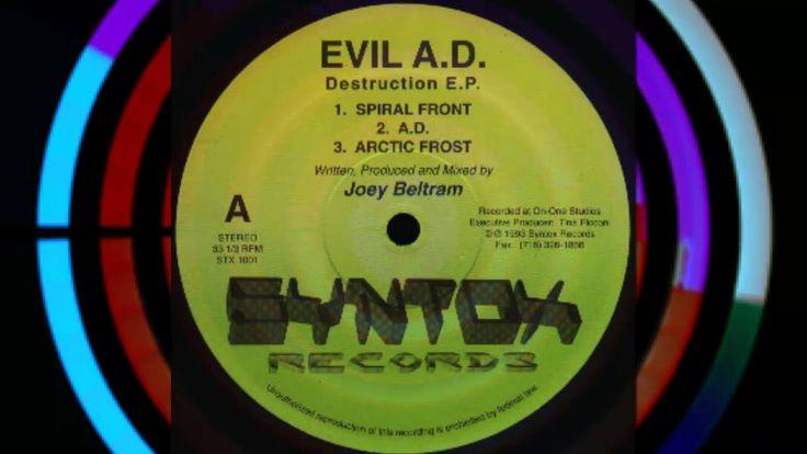 Evil A.D. (Joey Beltram) - Spiral Front | 90s ACID HARDCORE TECHNO