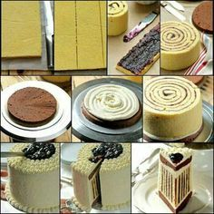 gorgeous cake... I think I can do this...