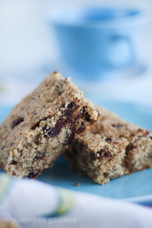 Gluten Free Breakfast Bars with Quinoa Flakes Hazelnuts and Cherries   Fetch My Recipe