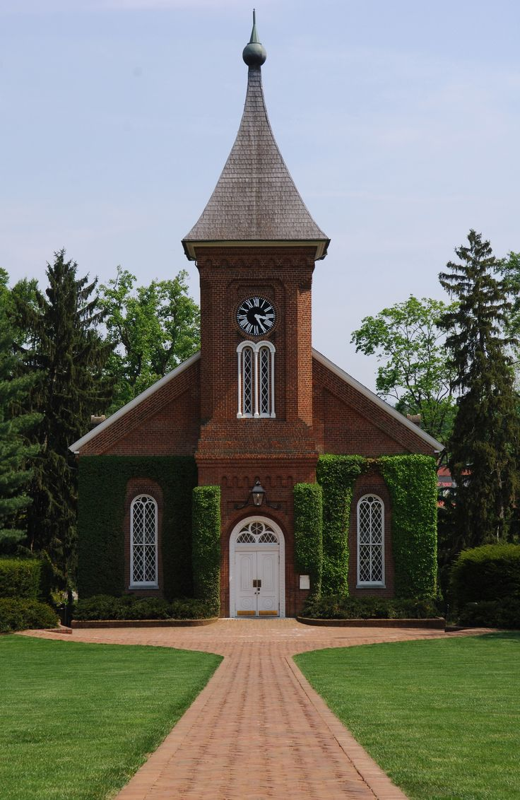 Lee Chapel located on the campus of Washington & Lee University Lexington, VA
