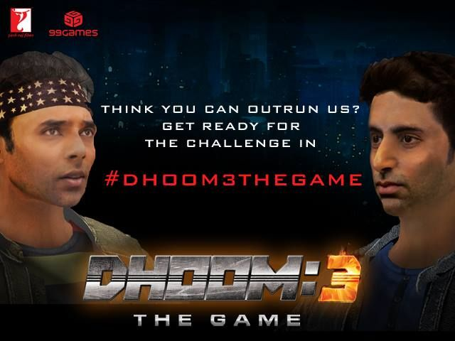 Aamir Khan Dhoom 3 Movie Game App by Yashraj Films
