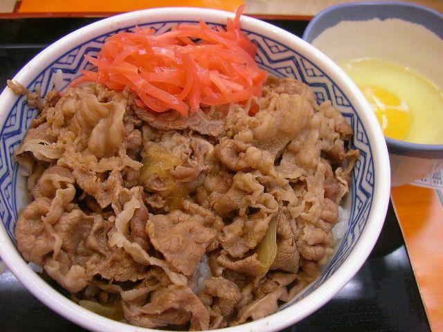 Gyudon - Japanese beef and rice bowl.