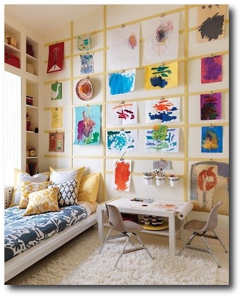 Creative Ways To Display Childrens Art