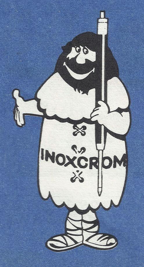 "detall publicitat ""INOXCROM"" revista ""Cavall Fort"" 1972. Catalunya"