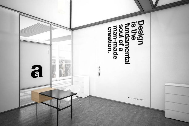 Typographic Posters made with Helvetica Font – Fubiz Media