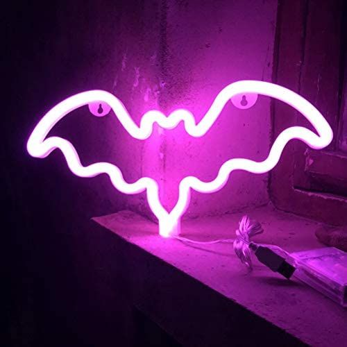 Haunted House Party, Neon Nights, Interior Exterior, Led Lamp, Usb, Night Light, Home And Garden, Shapes, Ebay