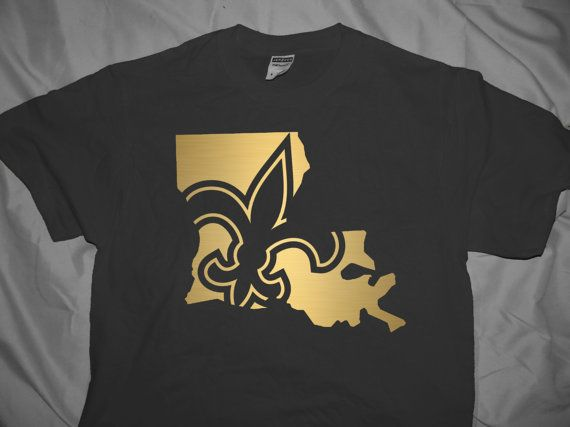 New orleans saints state design by jsdesignsandgraphics on for New orlean saints shirts