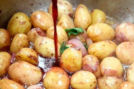 Ricette: Patate Novelle al Vino Bardolino @GardaConcierge