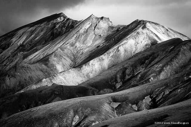 Landmannalaugar ~ Iceland: Landscape Photography, White Landscape