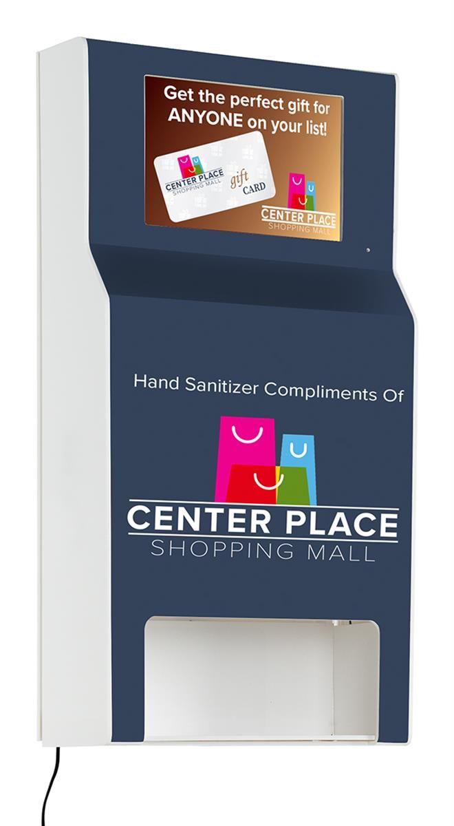 Personalized Locking Purell Hand Sanitizer Dispenser W Digital