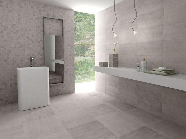 25 beste idee n over badkamers met keramische tegels op pinterest - Moderne betegelde vloer ...