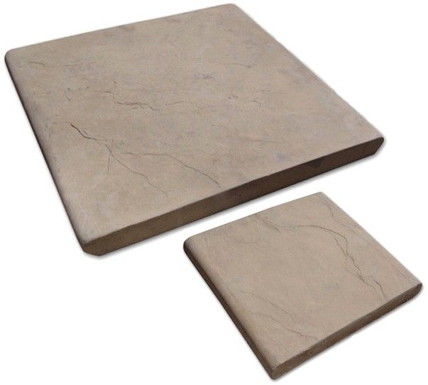 Double Round Edge Pavers for Wall Copings