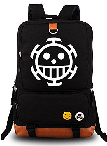 Siawasey Anime One Piece Cosplay Luminous Messenger Bag Backpack School Bag *** Check out this great product.