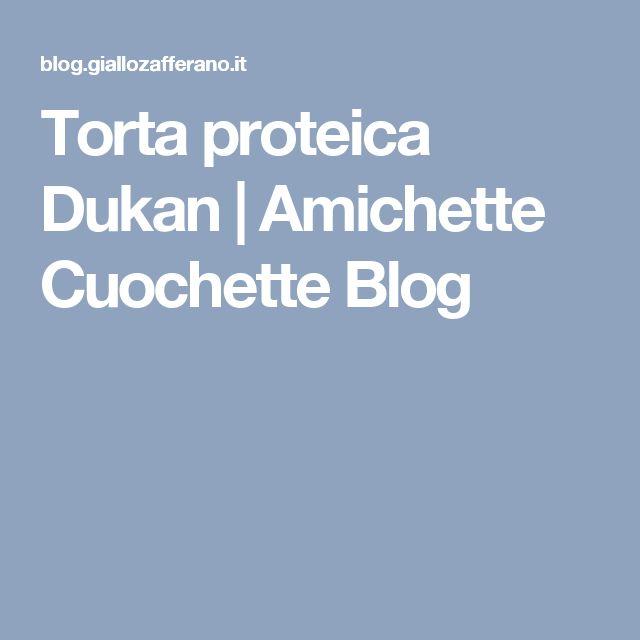 Torta proteica Dukan | Amichette Cuochette Blog