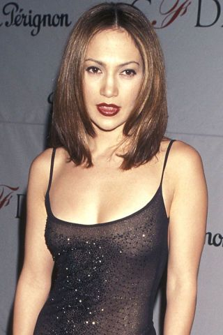 A look back at Jennifer Lopez's beauty evolution in 35 photos.