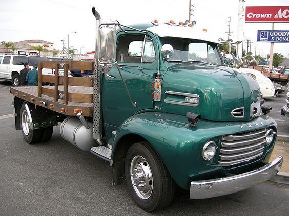 1948 1950 ford f 6 coe ford pikap pinterest ford - Bac a semis ...