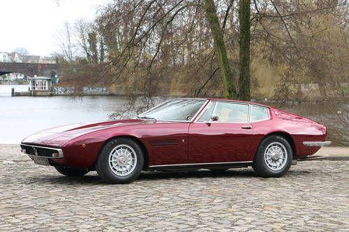 Maserati Ghibli 4.9 l SS Coupe For Sale (1971)