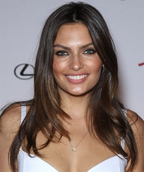 Alyssa Miller Hairstyle - Casual Long Straight