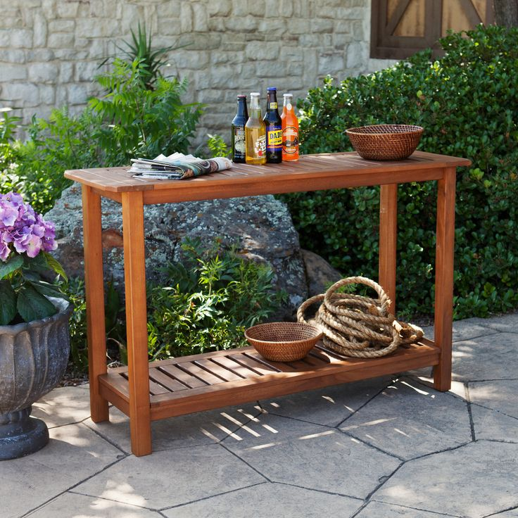 17 Best Ideas About Outdoor Console Table On Pinterest