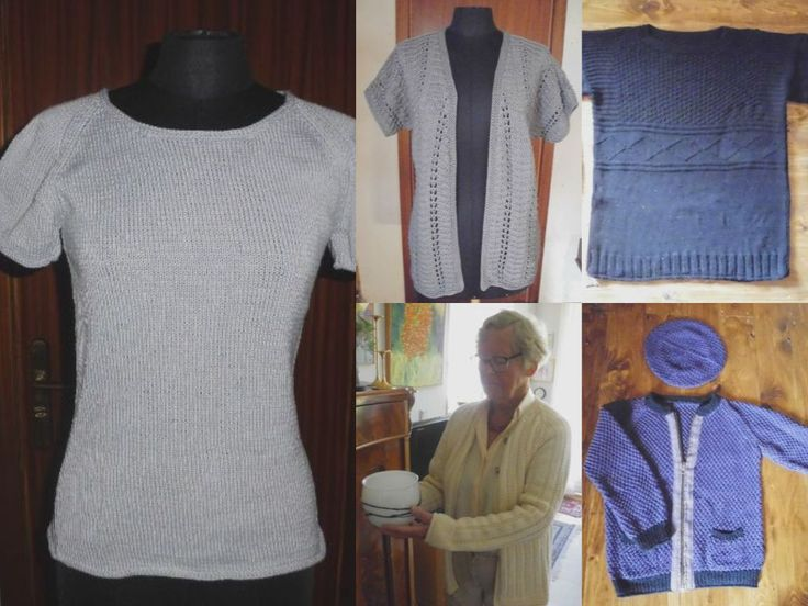 Summer collection 2018 of beautiful knitwear design in cotton. Knitting patterns and handmade knitwear from domoras