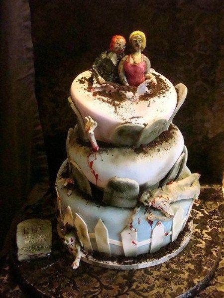 Les 10 gâteaux de mariage les plus terrifiants ! | EspaceBuzz.com