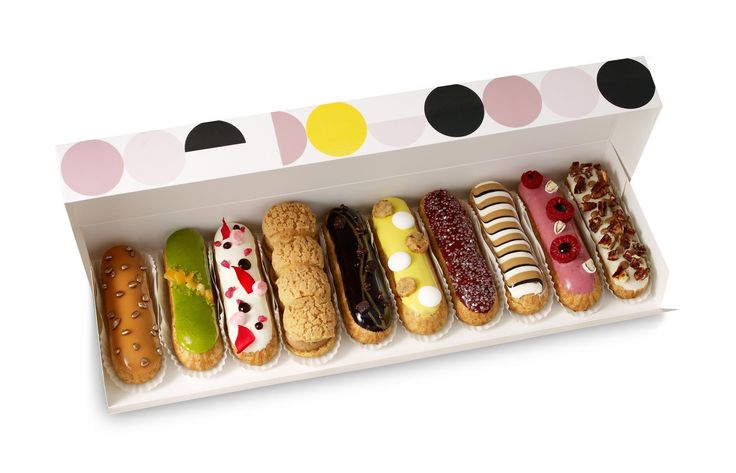 éclair...tentation, specially the coffe flavour ones :s