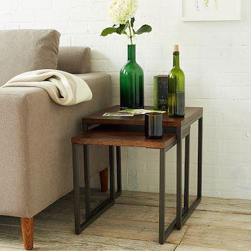 Box Frame Nesting Tables - Café #westelm