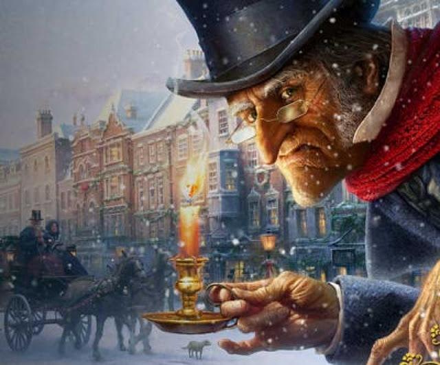 A Christmas Carol...I thought I loved the original christmas carol but this is amazing :D  #indigo #magicalholiday