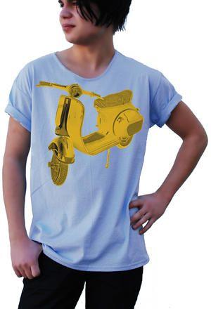 T-shirt från theTshit - VESPA