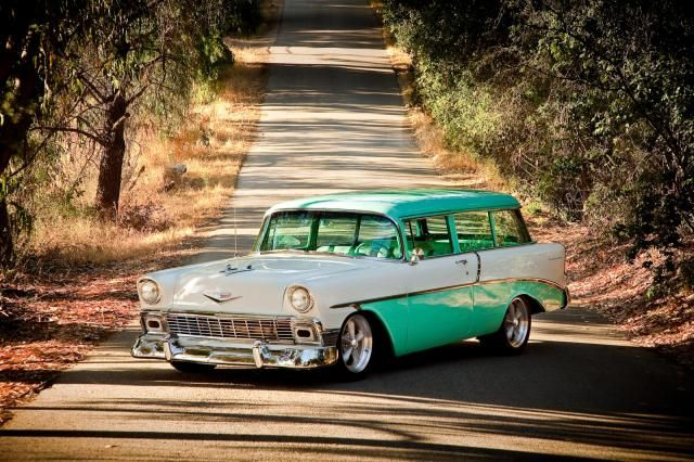 Chevrolet Station Wagon 1956....Re-pin Brought to you by agents at #HouseofInsurance in #EugeneOregon for #CarInsurance