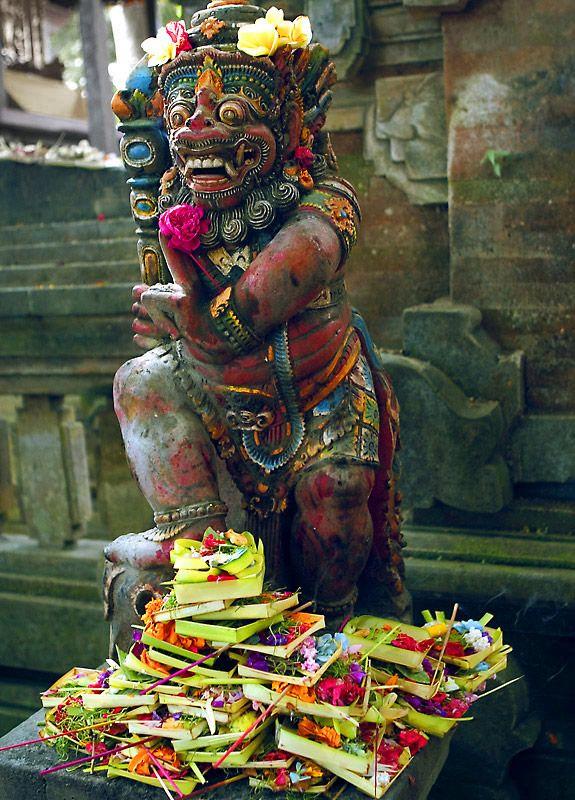 offerings - Ubud, Bali