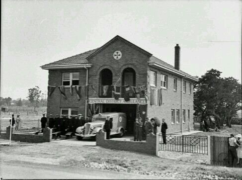 Penrith Ambulance Station on High St,Penrith in 1936.